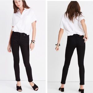 Madewell tall isko black stay ankle jeans g1203